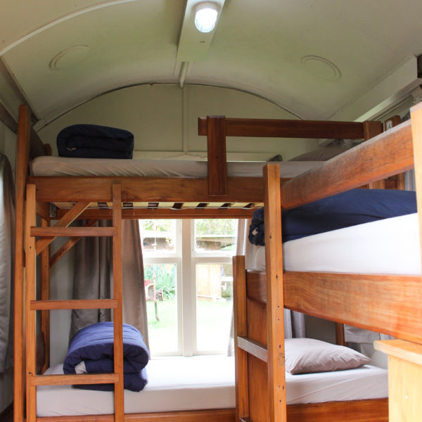 Backpackers Hostel Cabooses Solscape Raglan
