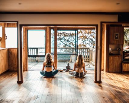 yoga at solscape raglan