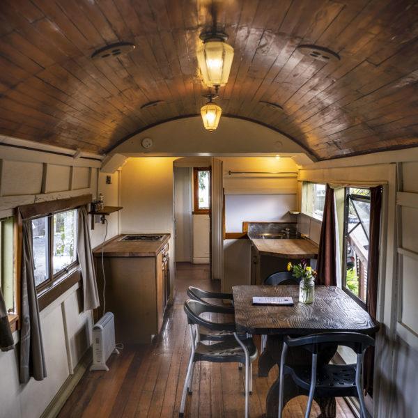 Stay in Overlander Train Solscape Raglan